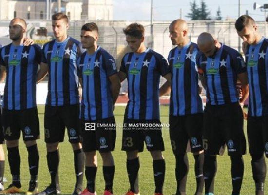 Bisceglie Calcio, severa lezione a Catania