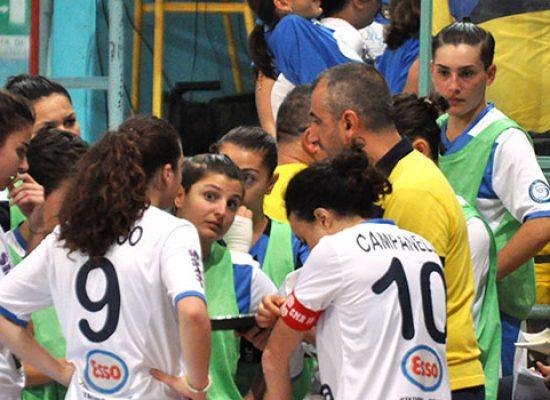 Bisceglie Femminile frenato in casa dal Futsal Molfetta