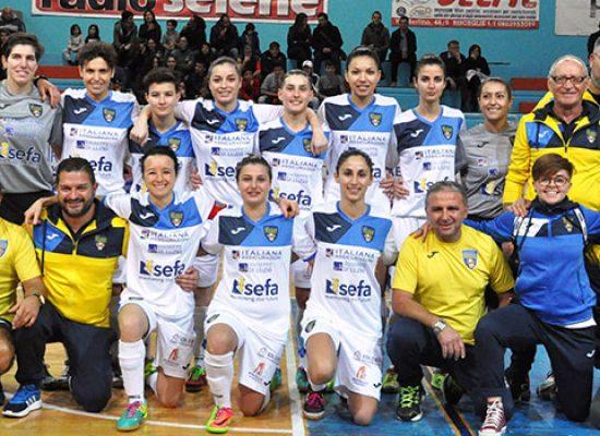 Bisceglie Femminile nella tana dell'AZ Gold Futsal per il big match che vale il primato