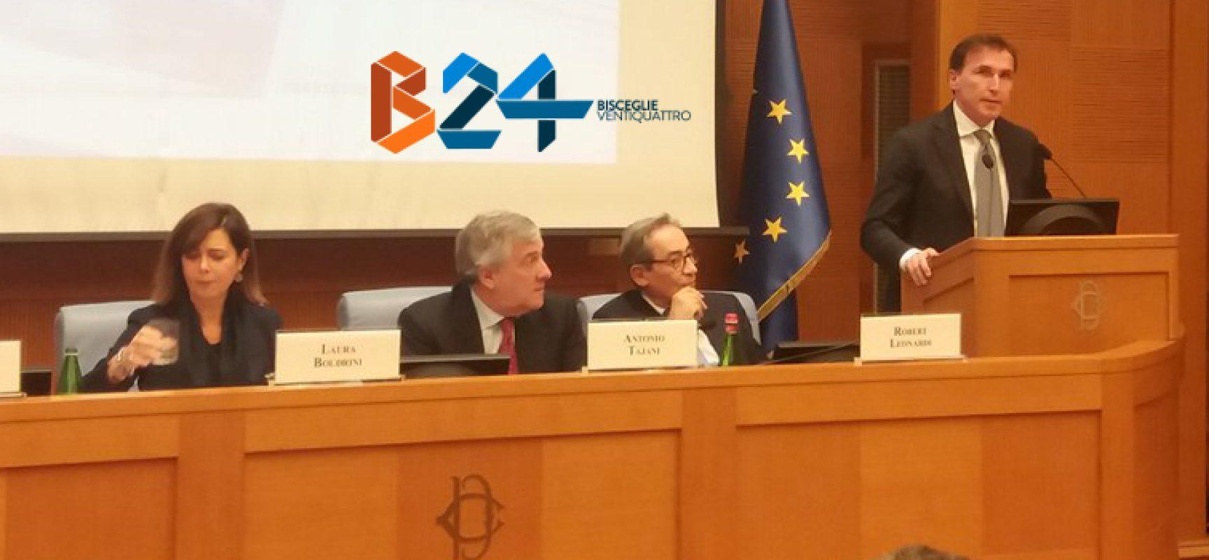 Francesco Boccia presenta il suo libro alla presenza di Laura Boldrini e Antonio Tajani