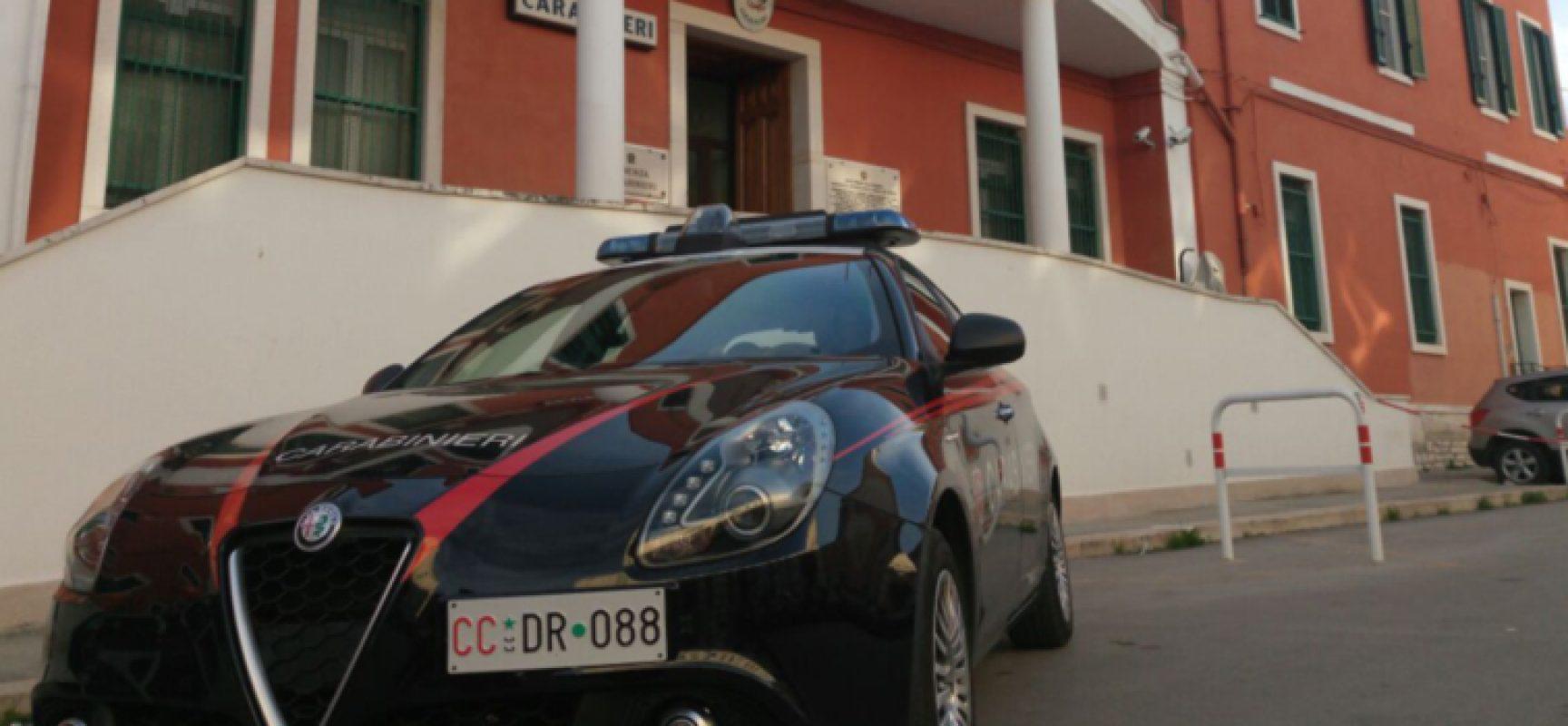 Carabinieri arrestano 22enne pregiudicato, aveva con sè alcune dosi di cocaina