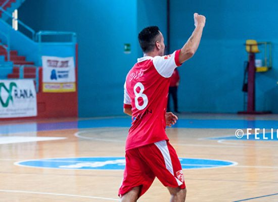 Colpo esterno della Diaz contro il Futsal Andria