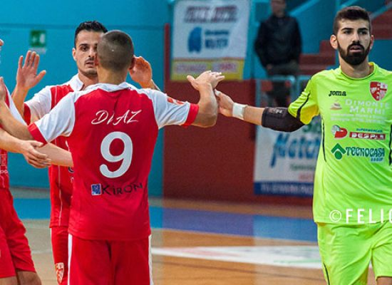 Trasferta complicata per la Diaz in casa del Futsal Bat
