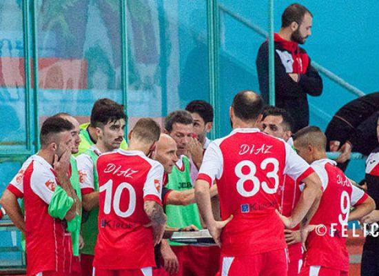 Diaz beffata nel finale ed eliminata ai supplementari dal Futsal Andria