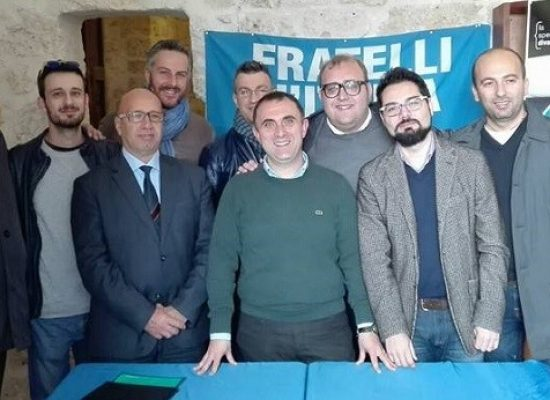 Fratelli d'Italia, concluso il congresso cittadino: Pasquale Todisco nuovo segretario