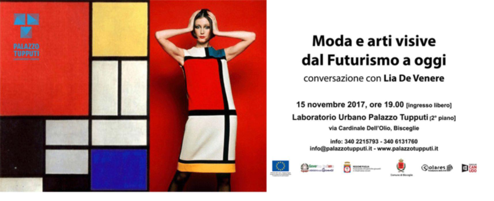 Moda e arti visive dal Futurismo a oggi, conversazione con Lia De Venere a palazzo Tupputi