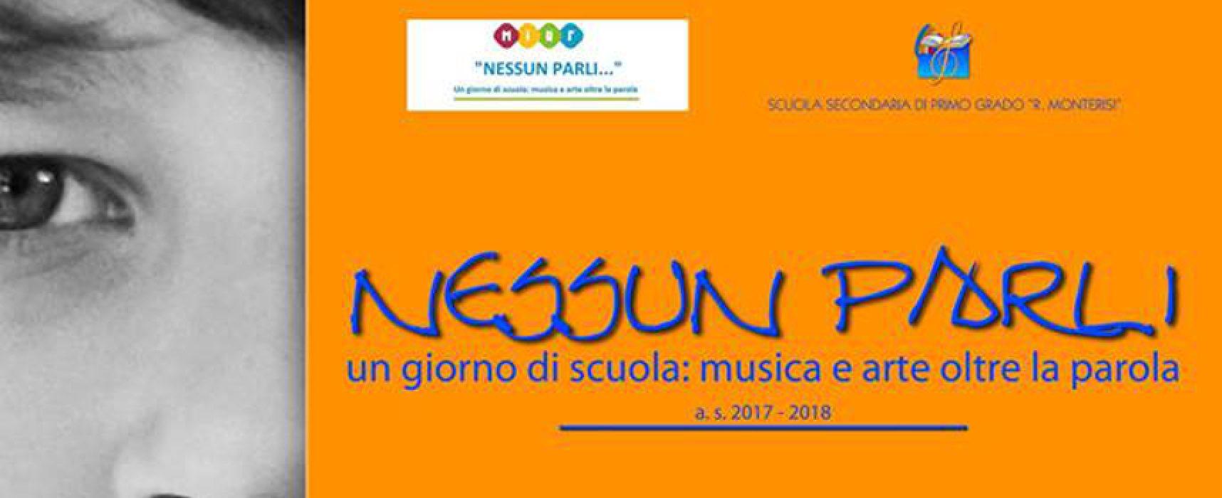 """""""Nessun parli…"""" iniziativa dedicata alla musica e all'arte accolta dalla scuola Riccardo Monterisi"""