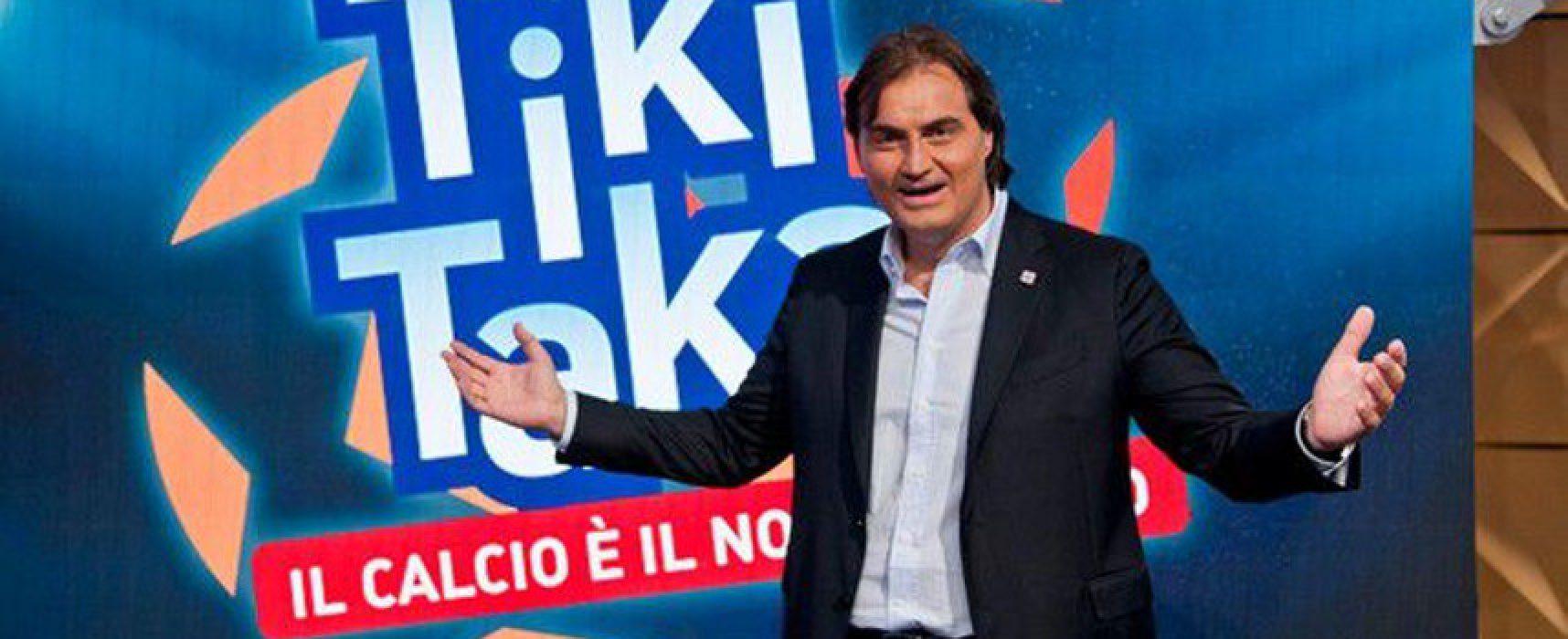 """Pierluigi Pardo ospite alle Vecchie Segherie Mastrotaro con il suo romanzo """"Lo stretto necessario"""""""