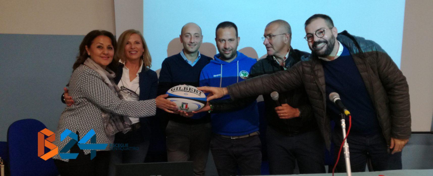 Convegno su sport, salute e alimentazione: applausi per il progetto dei Bees Rugby / VIDEO