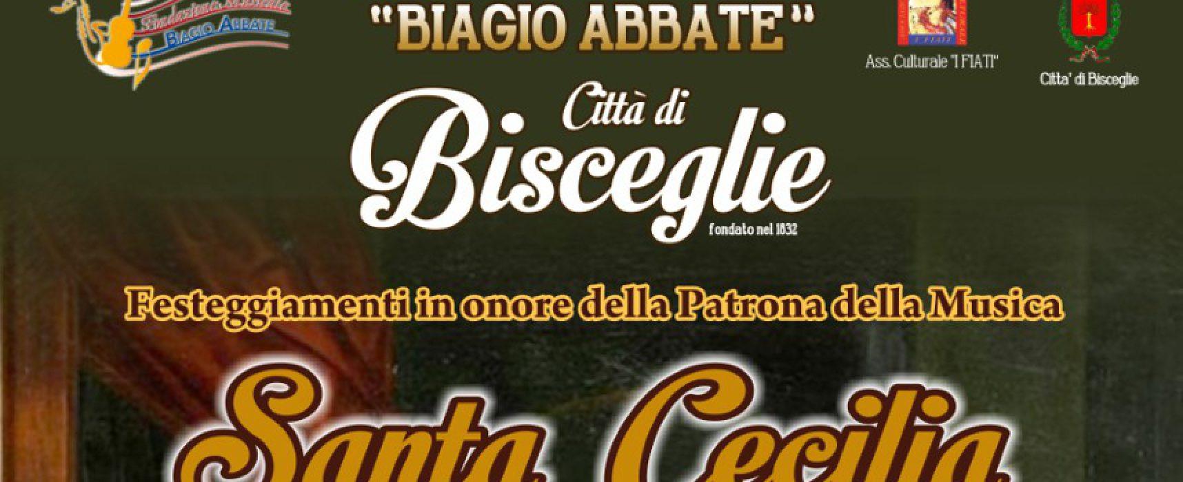 Il Concerto Bandistico Città di Bisceglie organizza un evento per celebrare Santa Cecilia