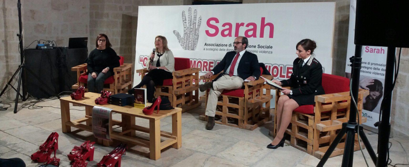 """Violenza sulle donne, Sarah onlus: """"Fare rete tra forze dell'ordine, cittadini e associazioni"""""""