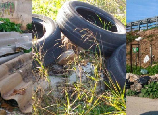 """Federazione Pro Natura: """"Continua l'abbandono illegale di rifiuti, c'è anche amianto"""" / FOTO"""