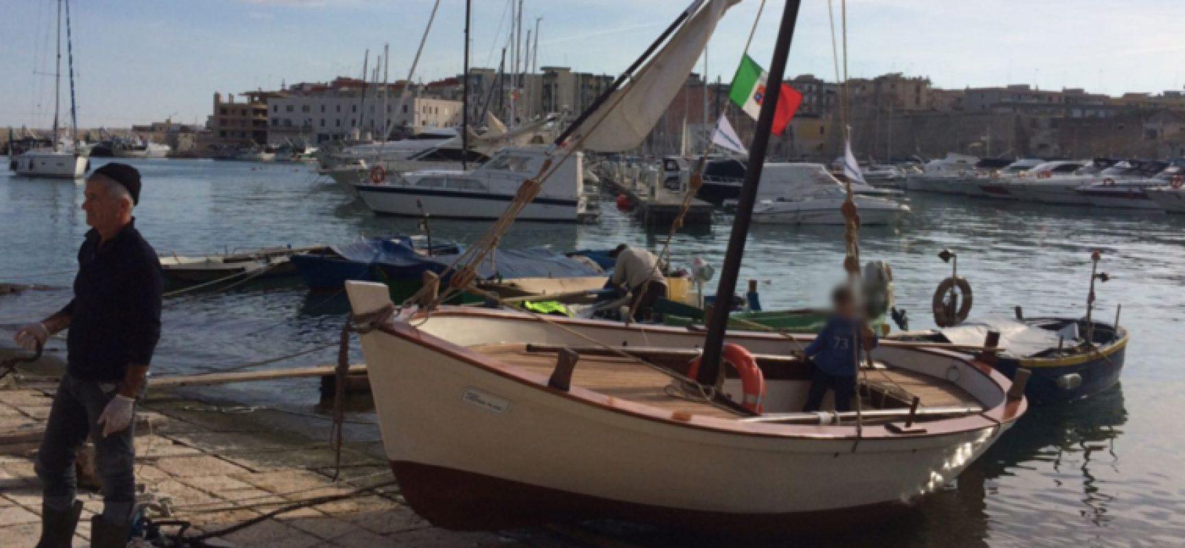 """""""Custodi del Mare"""", il gozzetto Zara fa il suo ingresso nel Museo Galleggiante"""