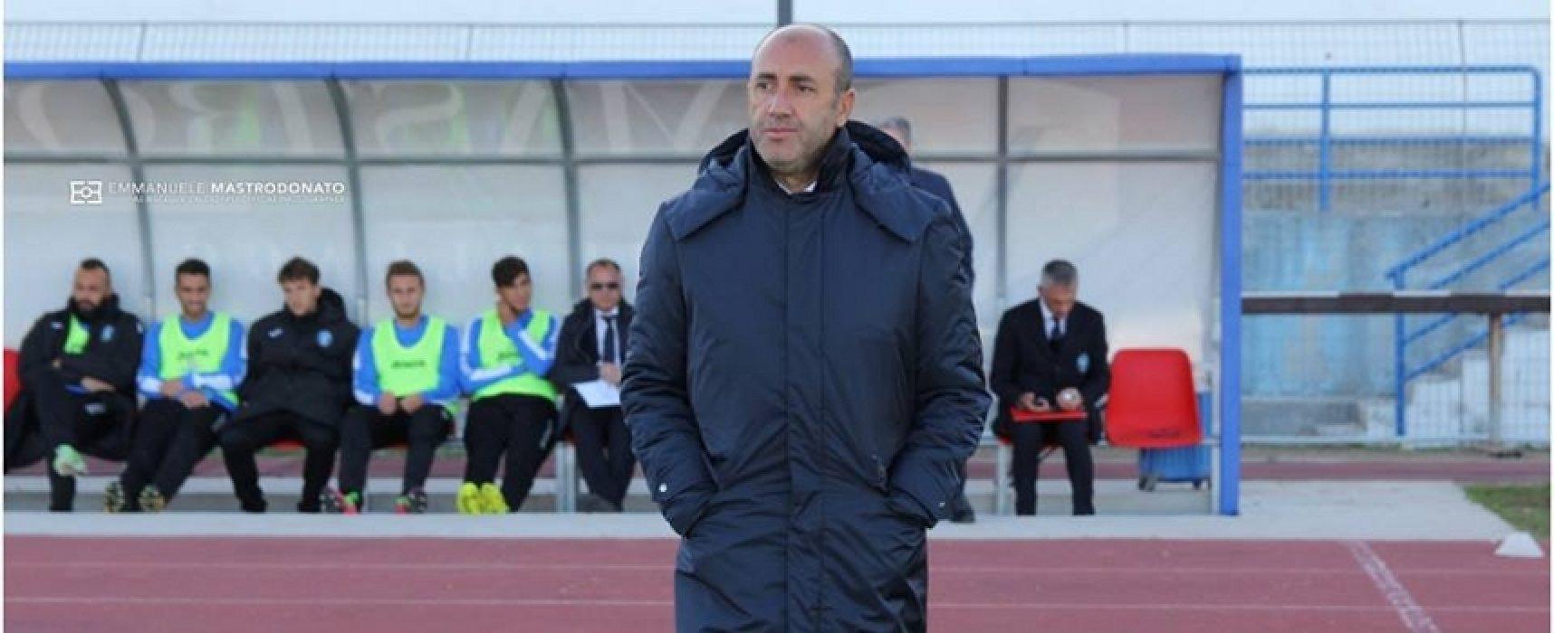 """Domani Bisceglie-Fondi, Zavettieri: """"Voglio una squadra propositiva, tonica e determinata"""""""