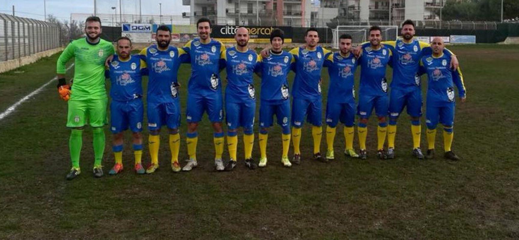 Calcio, Prima categoria: netto successo del Don Uva contro il Giovinazzo