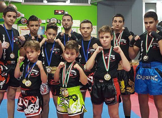 Incetta di vittorie e podi per la Fit Combat ai Campionati Italiani di kickboxing