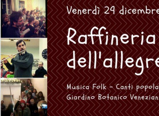 Canti popolari e natalizi della tradizione pugliese al giardino botanico Veneziani