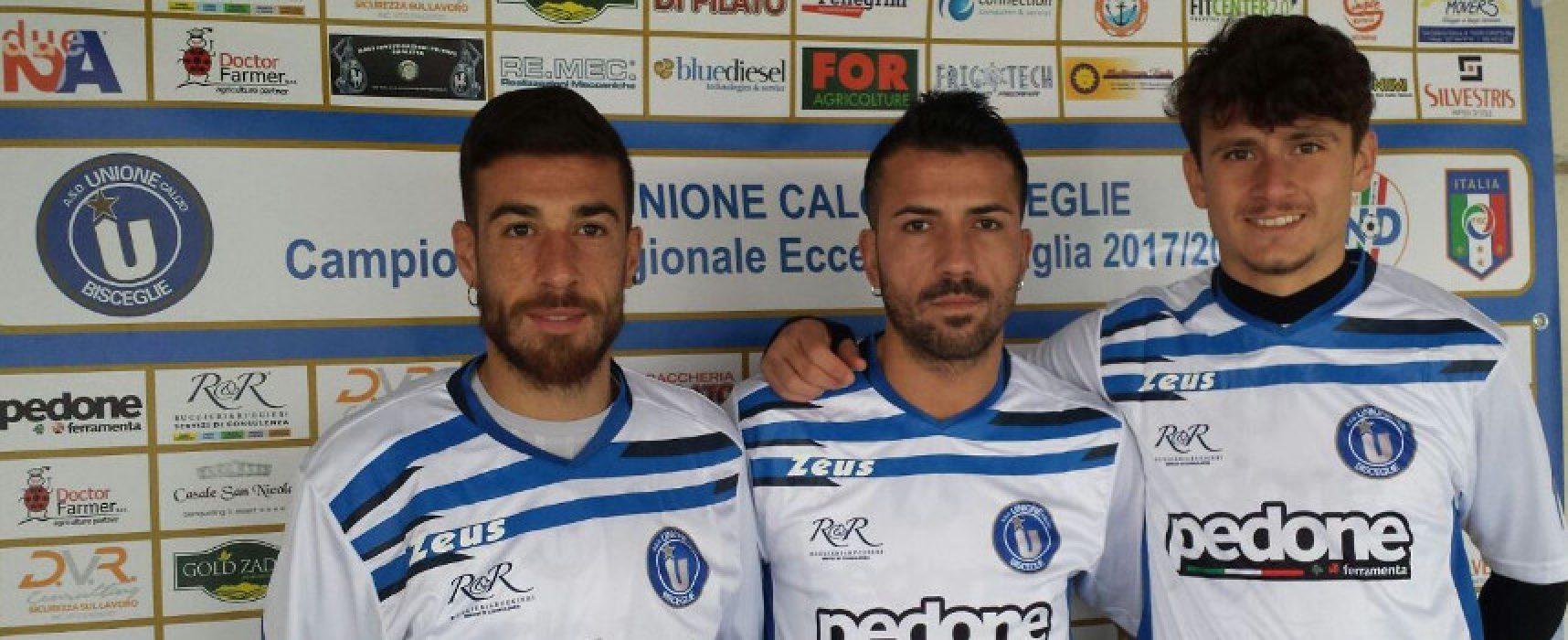 Unione Calcio, scontro diretto contro l'Aradeo con tre nuovi acquisti