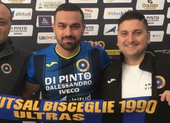 Futsal Bisceglie, ancora un rinforzo: ecco Waltinho
