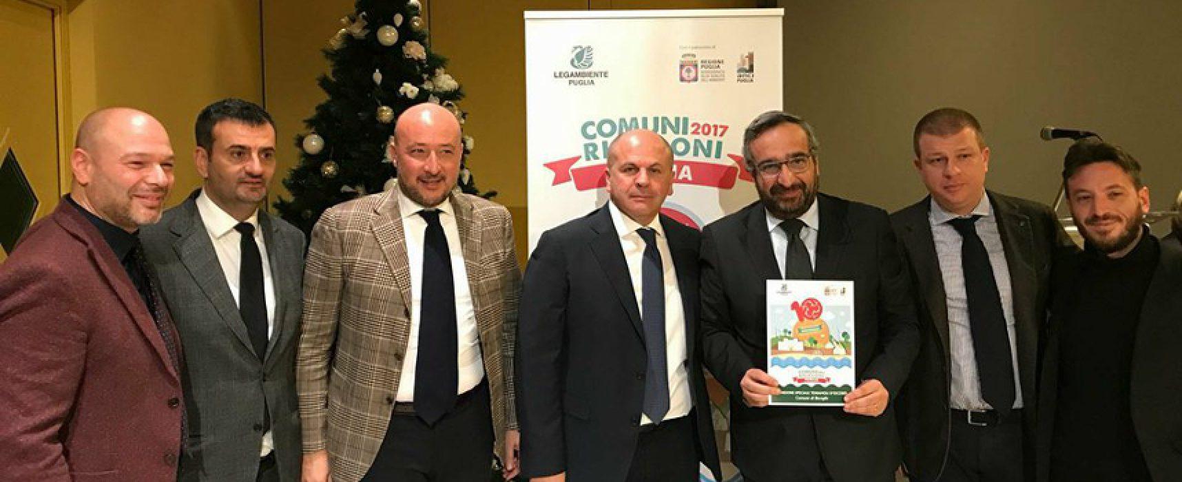 """Legambiente Puglia presenta X edizione """"Comuni Ricicloni"""", Bisceglie al 61,3% di differenziata"""