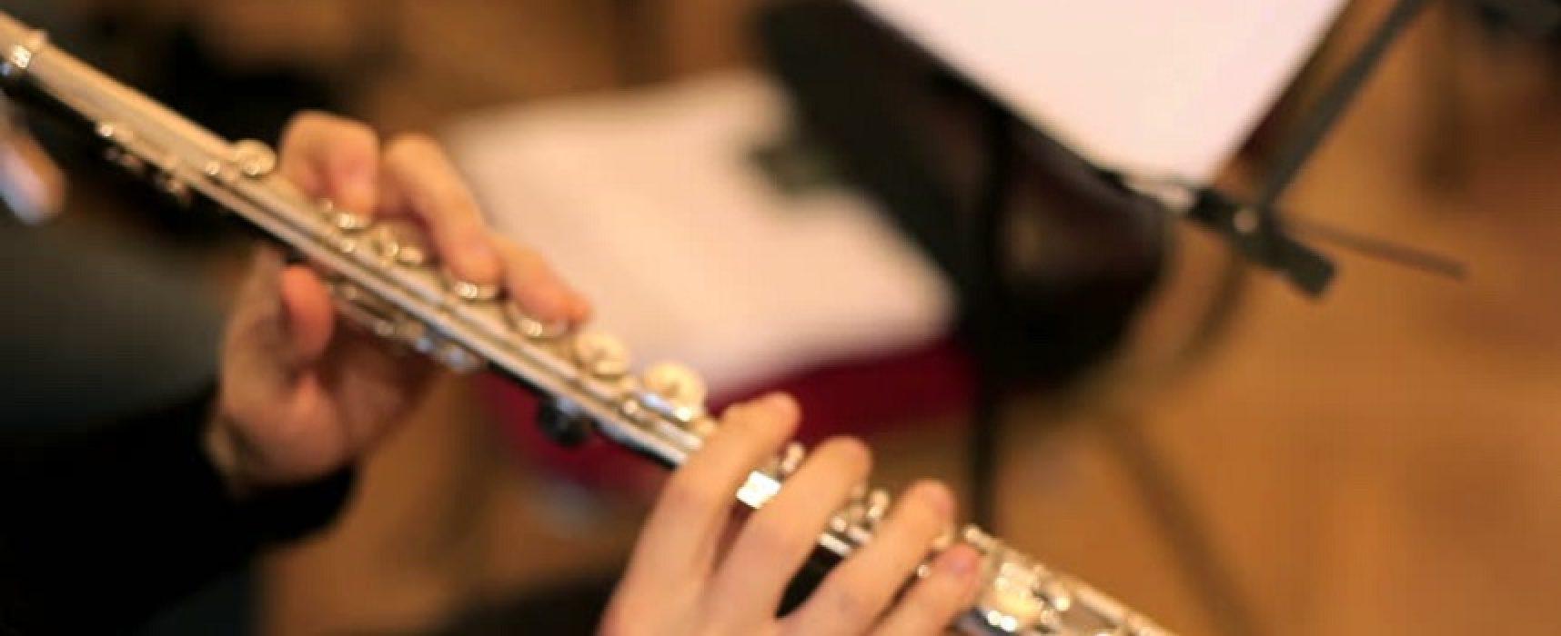 Il flautista Giuseppe Di Liddo stasera al Circolo Unione per presentare il suo nuovo disco