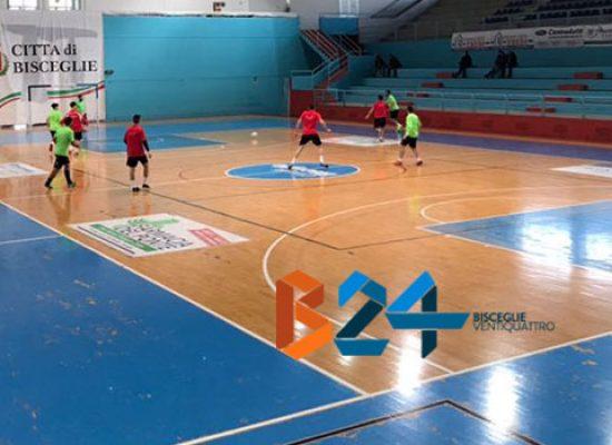 Buon test di fine anno per Futsal Bisceglie e Diaz