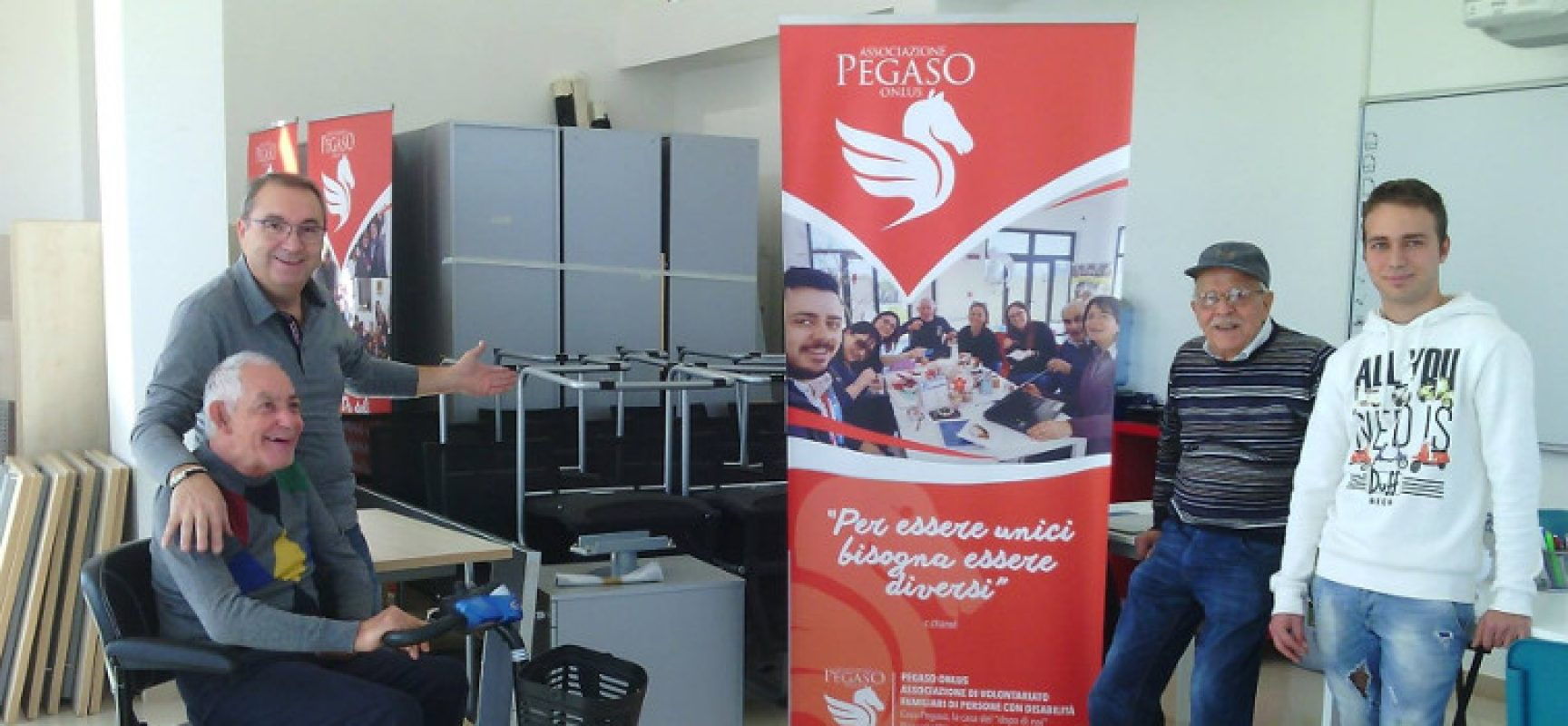 Storie di volontariato: Fastweb Bari dona arredi a Pegaso ...
