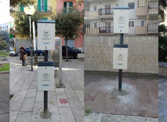 Igiene urbana, installate 20 postazioni per la raccolta di deiezioni canine