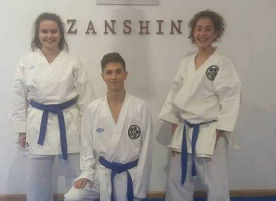 Un oro e un bronzo per la Zanshin di Bisceglie ai Campionati Italiani di karate