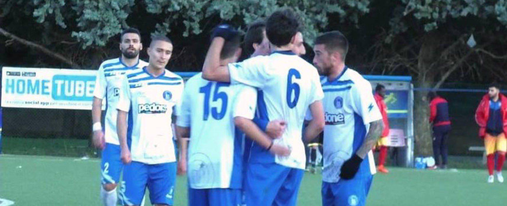 Unione Calcio a Barletta nel derby che chiude il girone d'andata