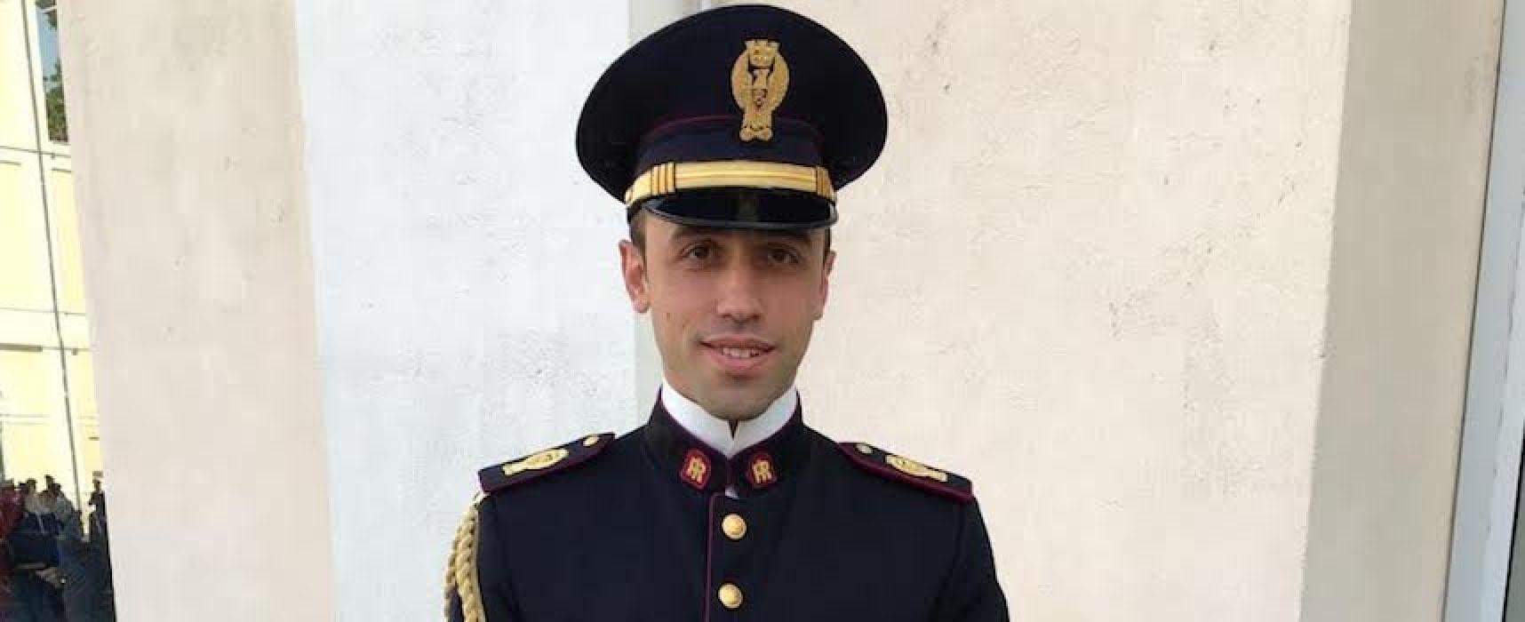 Il biscegliese Davide Lamanuzzi incaricato come Commissario della Questura di Bolzano