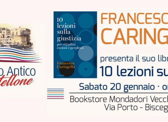 """Caringella presenta """"10 lezioni di giustizia"""" alle Vecchie Segherie Mastrototaro"""