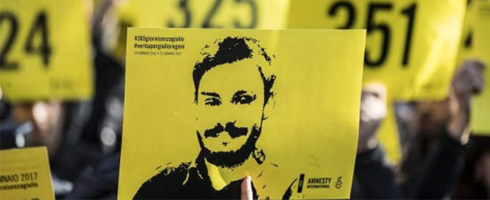 Bisceglie scende in piazza per ricordare i due anni dalla scomparsa di Giulio Regeni