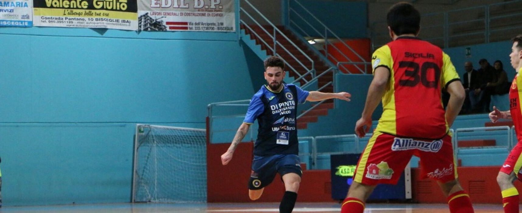 """Futsal Bisceglie, al Paladolmen arriva la Salinis; Milucci: """"La vittoria è la miglior medicina per tutti i problemi"""""""