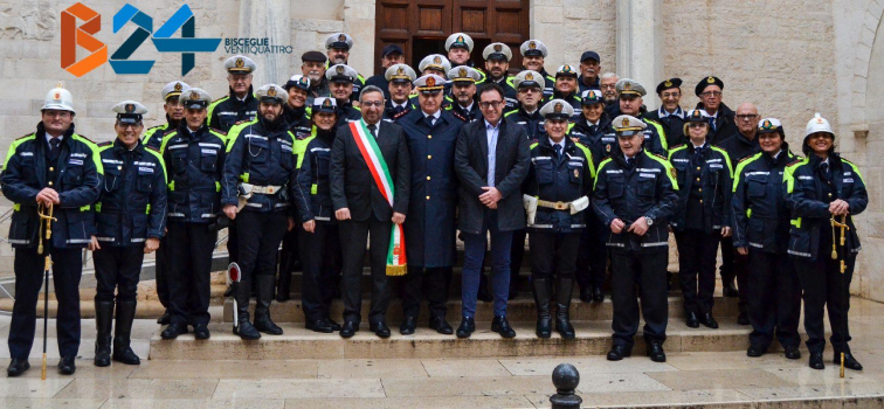 San Sebastiano, polizia locale in festa. L'anno scorso 24mila multe e 150 incidenti / FOTO