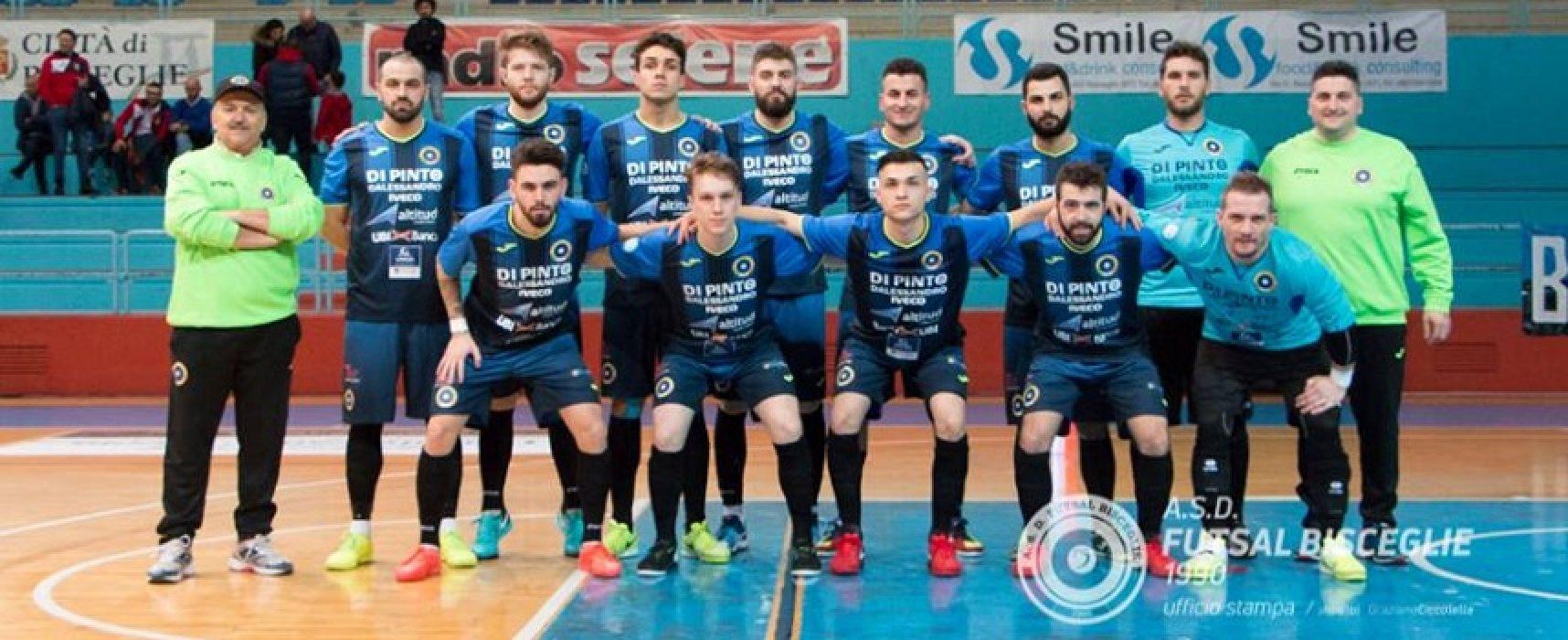 Futsal Bisceglie, pari a Barletta e fuori dai playoff