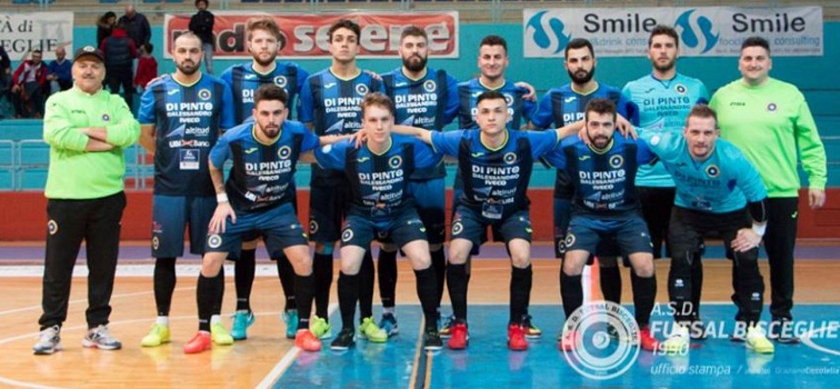 Futsal Bisceglie ancora in Sicilia, nuovo match con il Meta, questa volta in Coppa Italia