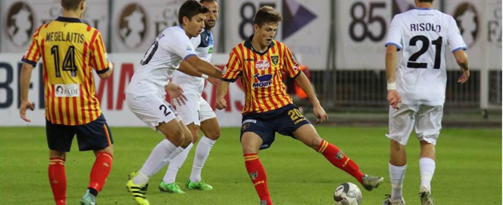 Bisceglie-Lecce anticipo televisivo su Sportitalia, oggi test amichevole