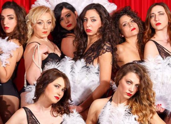 "La compagnia Fagipamafra all'opera per il musical ""Welcome to Burlesque"" / DETTAGLI"