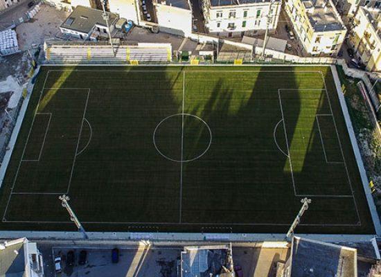 Unione Calcio – Bitonto, l'incontro si disputerà a porte chiuse