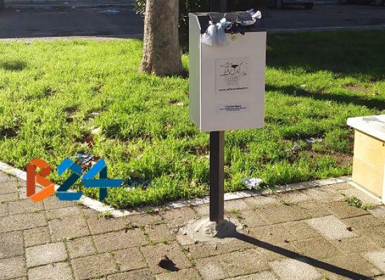 Deiezioni canine, in che stato sono le strade biscegliesi dopo l'installazione delle postazioni?