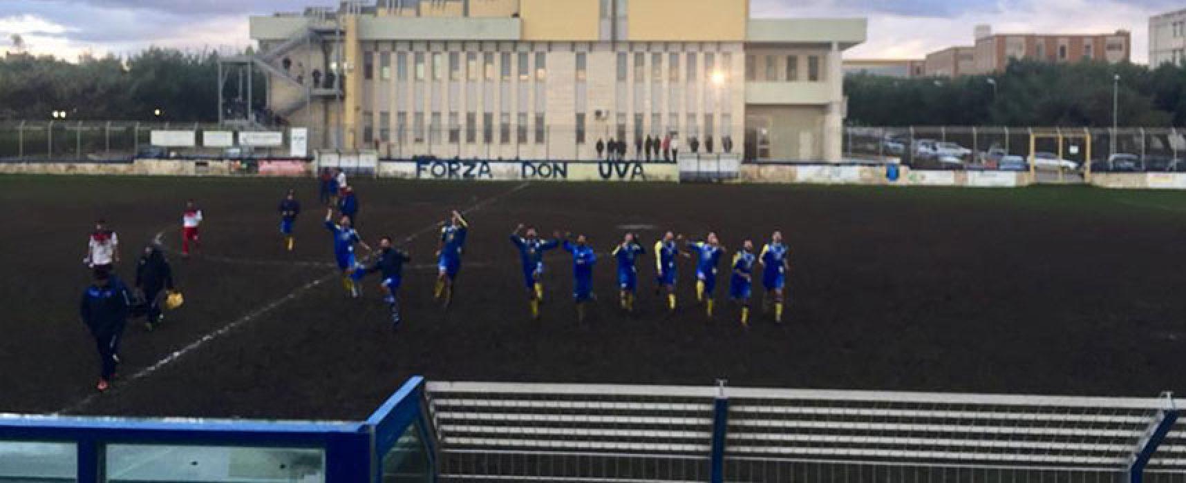 Don Uva calcio, vittoria sul Canosa e allungo in vetta / CLASSIFICA