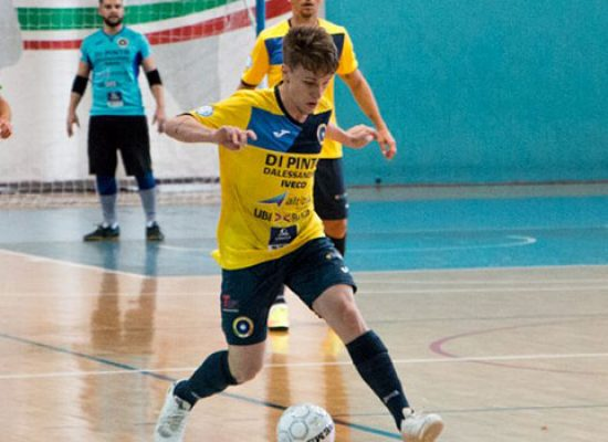Blitz Salinis in casa del Futsal Bisceglie