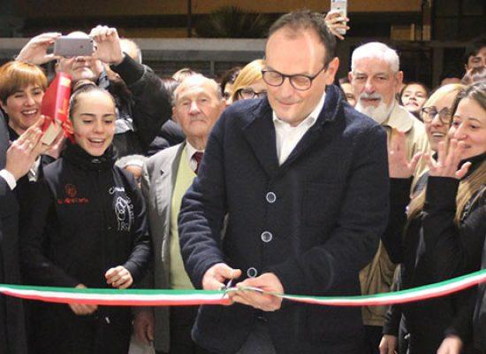La Ginnastica Ritmica Iris inaugura il nuovo centro allenamenti a Bisceglie / FOTO