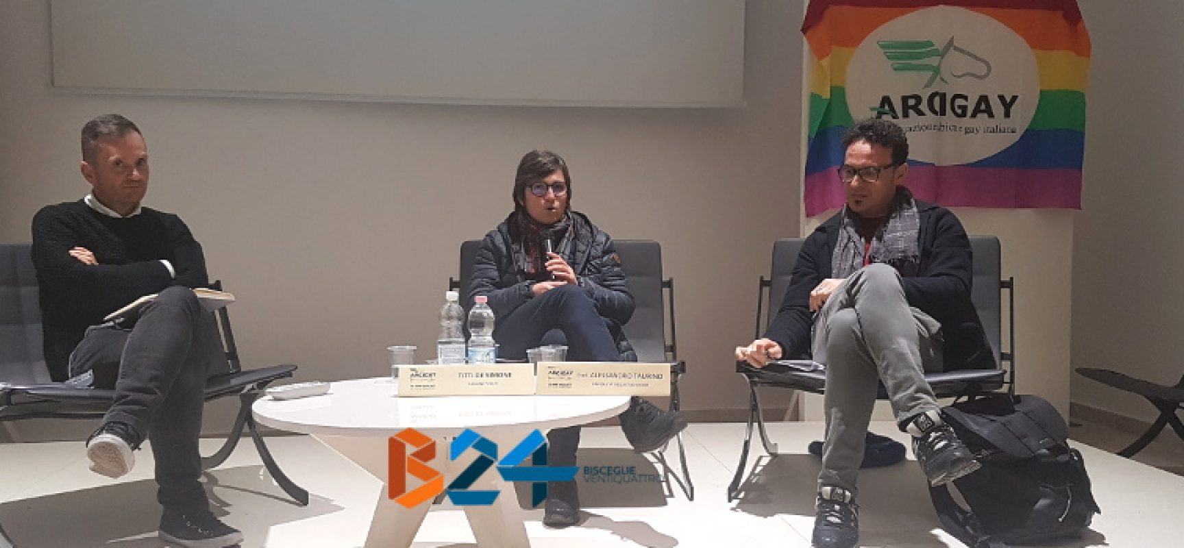 Contrasto omofobia e transfobia, presentata al Castello di Bisceglie la legge regionale