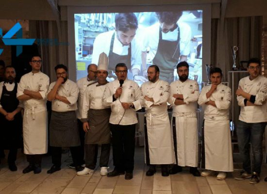 Il Team Culinary Dolmen premia i migliori chef di oggi e di domani / FOTO