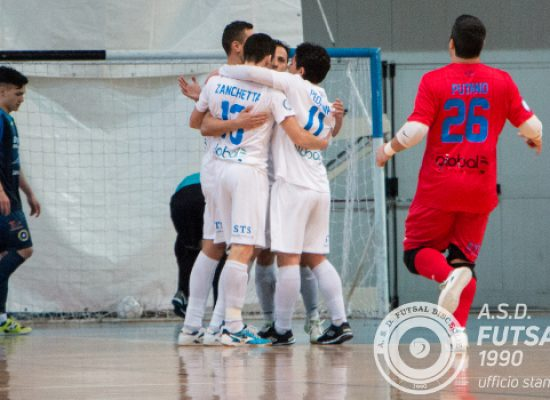Troppo Maritime per il Futsal Bisceglie, la capolista passa 8-0 al PalaDolmen