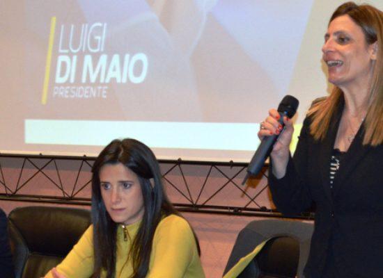 Politiche 2018, apertura comitato Movimento 5 stelle a Bisceglie con Piarulli e Galizia