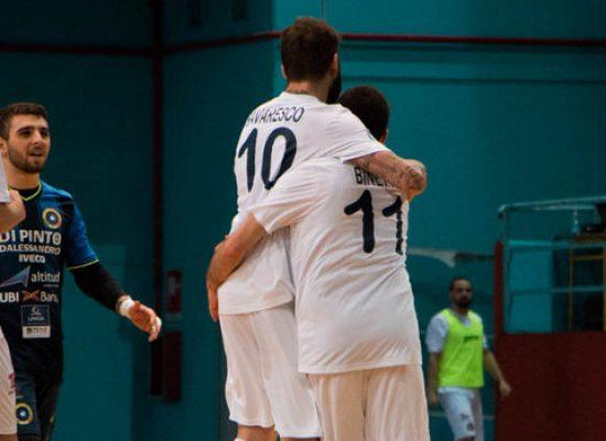 Il Futsal Bisceglie supera il Ciampino e torna in corsa per i play-off