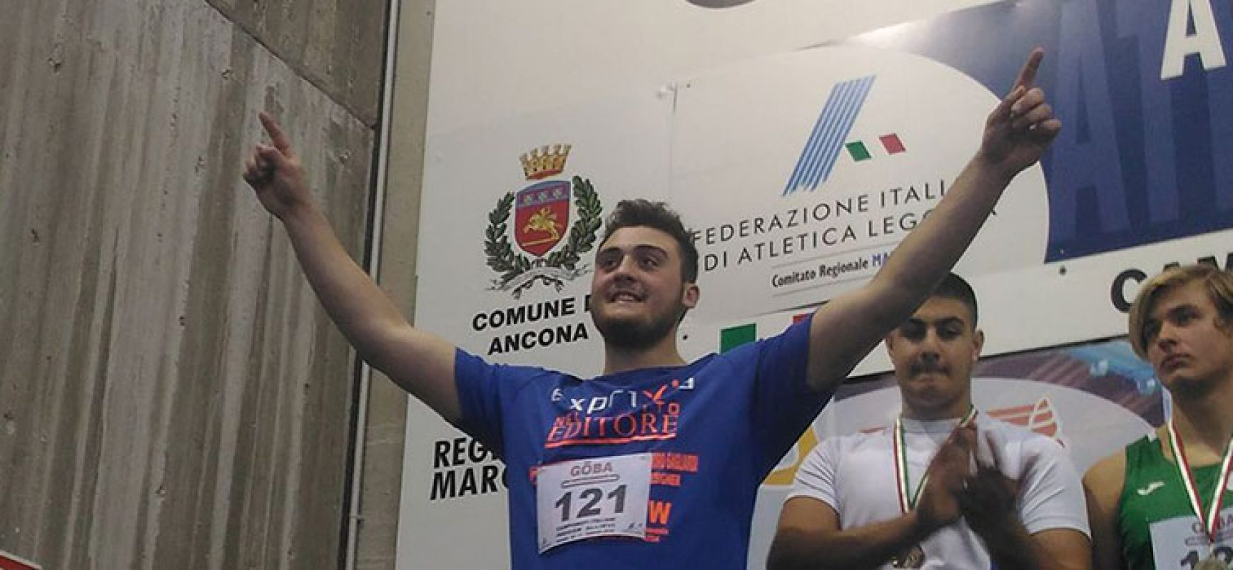 Carmelo Musci, campione italiano Allievi e primato personale nel getto del peso